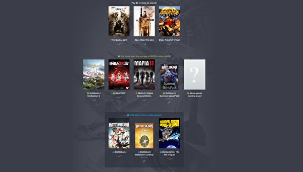 New 2K Humble Bundle Includes Spec Ops: The Line for One Dollar