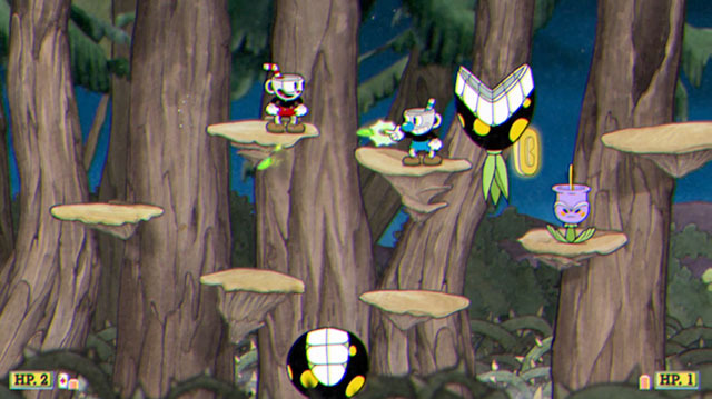 The Struggle is Real in Co-op Cuphead Gameplay