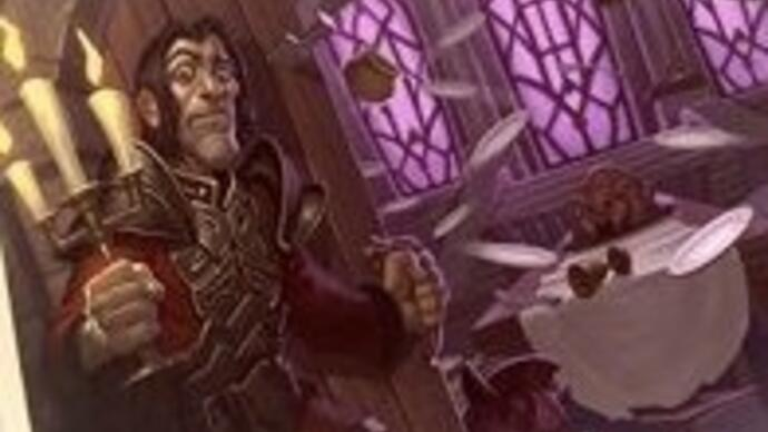 There's a Beauty and the Beast-themed card in the new Hearthstone expansion