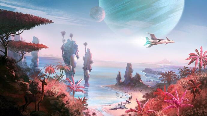 No Man's Sky has an enormous day one patch that adds multiple endings