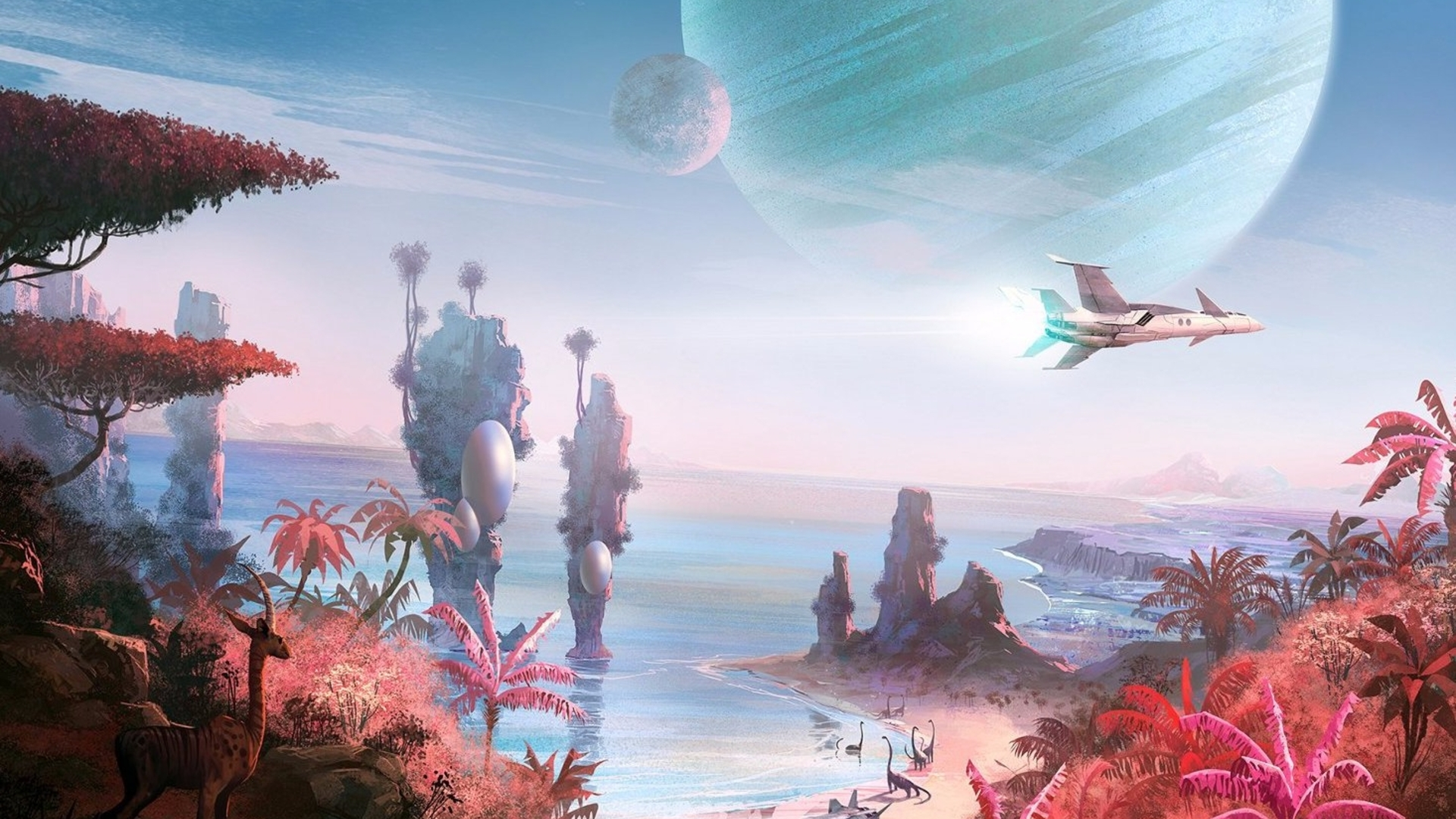 Watch We Play No Man S Sky On Pc Locked To 4k 60fps Eurogamer Net