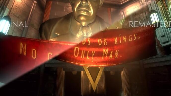 A quick look at the beginning of BioShock, original compared to remastered