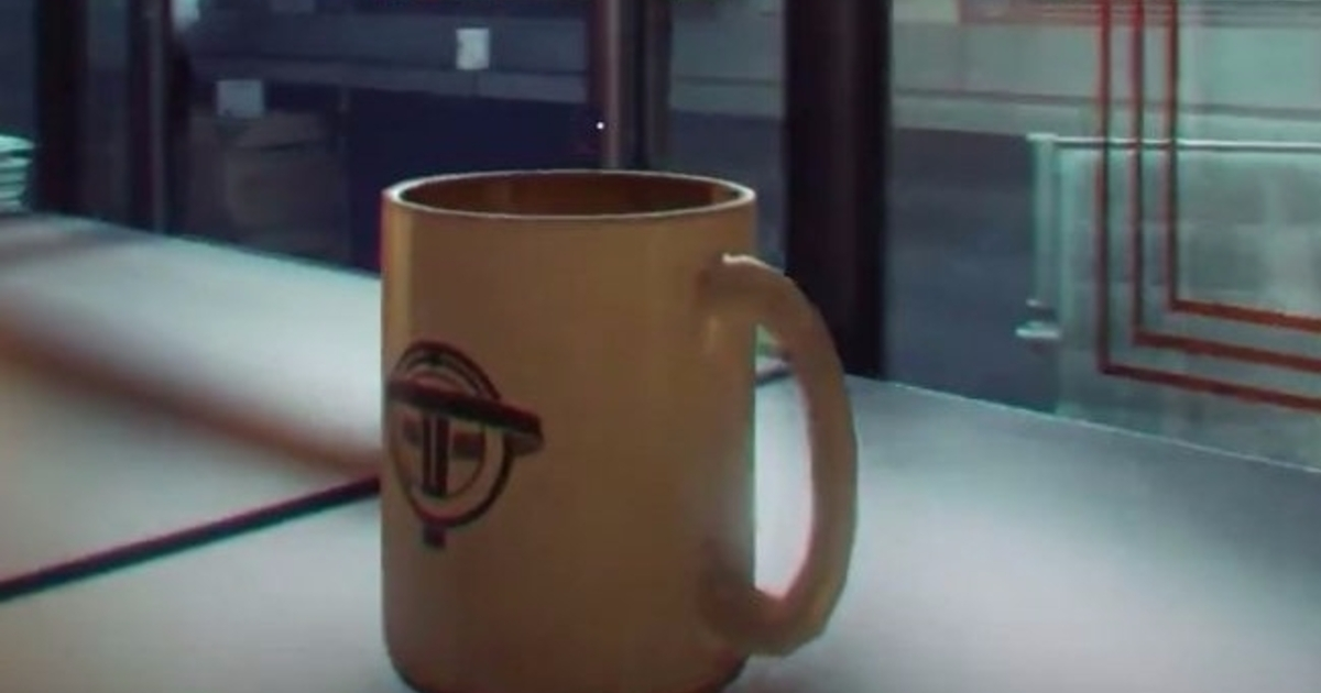 This Coffee Mug Is Prey 39 S Most Exciting New Feature