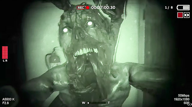 Outlast Sequel Outlast 2 Still Night Vision Horror Tour, Sorry Andy