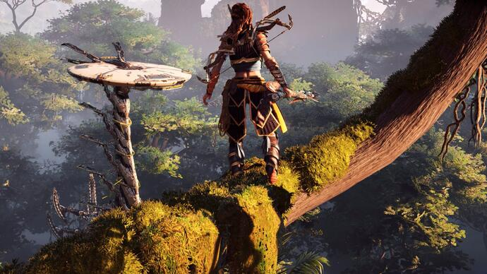 Gameplay 4K de Horizon: Zero Dawn en PlayStation 4 Pro