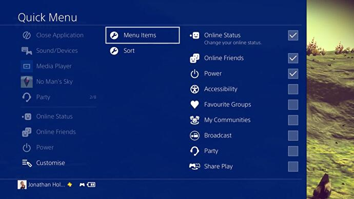 PS4's big new update (the one with folders) goes live • Eurogamer net