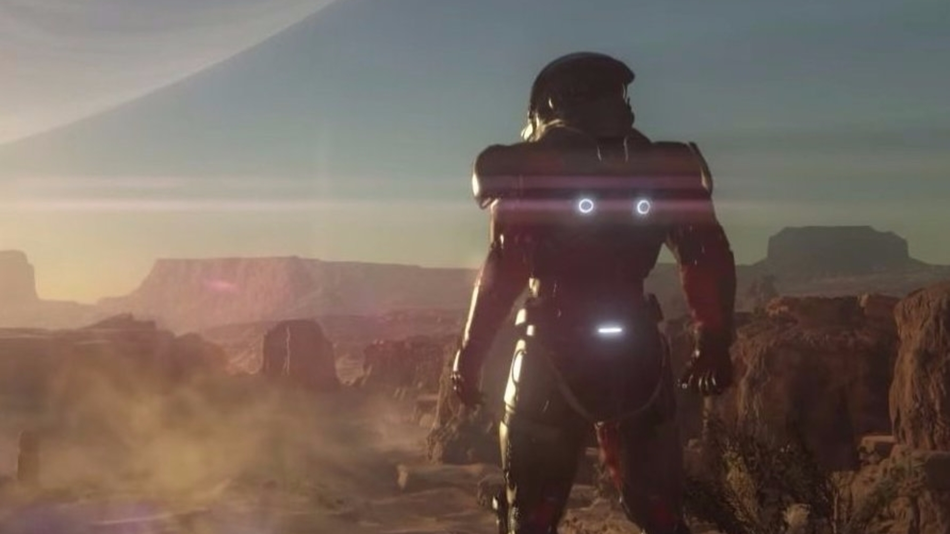 You can voice a character in Mass Effect Andromeda