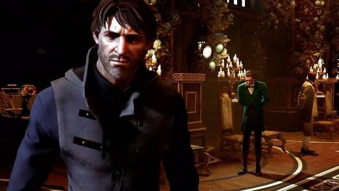 Cor it's Corvo in a Dishonored 2 gameplay trailer at last