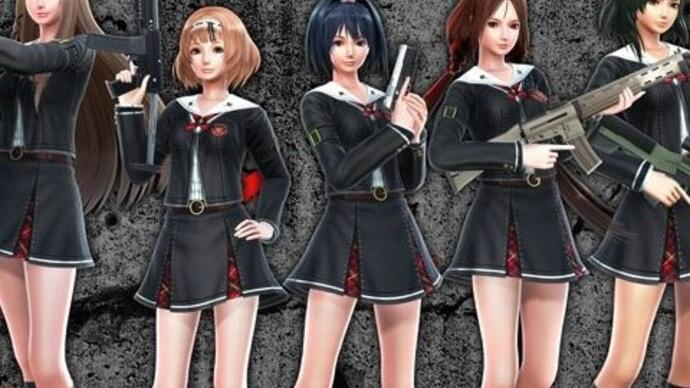 Primeiro trailer de School Girls/Zombie Hunter