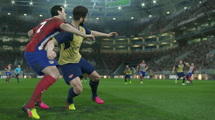 PES 2017 review • Eurogamer net