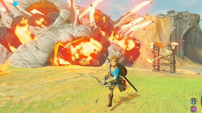 The Legend of Zelda: Breath of the Wild si mostra in un breve filmato di gameplay