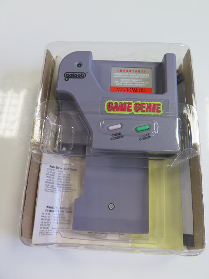 Game Genie declassified: That summer I played 230 Game Boy