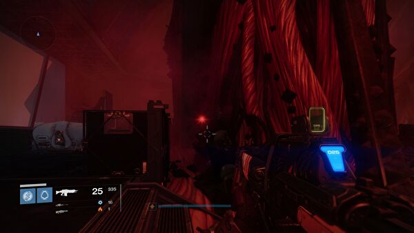 In the SIVA replicator room proper, where you face the story's final boss, it's on the left side of the room, behind a column in the middle of the room next ...