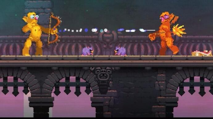 Nidhogg 2 announced for next year, with weird new art style
