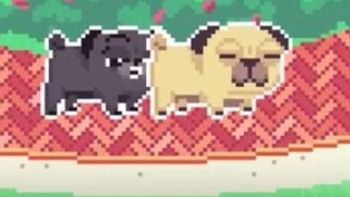 Co-op dog simulator Butt Sniffin Pugs launches Kickstarter campaign