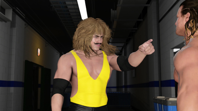 WWE 2K17's New Career Mode Gives Birth To Wrestler Lionface