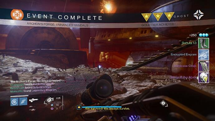 Destiny Archon's Forge: Loot, rewards, and how Rise of