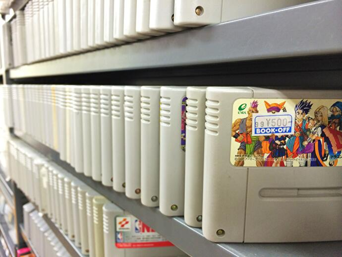 What happened to Japan's once bountiful vintage game stores