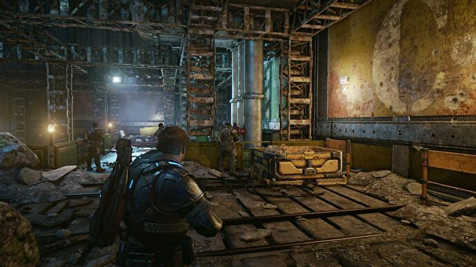 Gears of War 4 - Act 4 collectible locations • Eurogamer net
