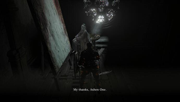 Dark Souls 3 Ashes Of Ariandel Sister Friede Father