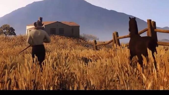 Předělávka Red Dead Redemption 2 traileru do GTA 5