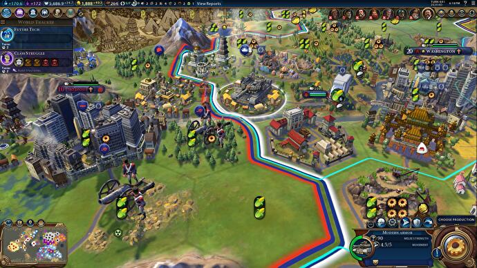 Civilization 6 Domination Victory - war conditions, Casus