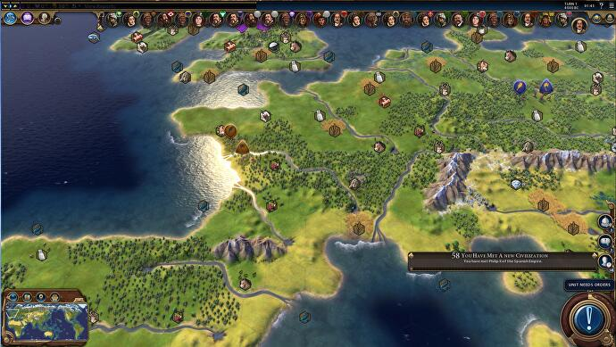 Now Civilization 6 Has An Earth Map Mod But It S Ludicrously Big