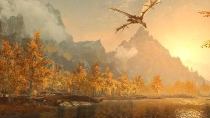 La remaster di Skyrim al secondo posto nelle classifiche inglesi