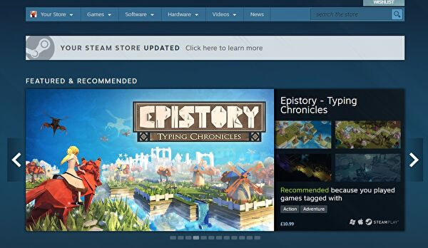 Valve launches redesigned Steam store