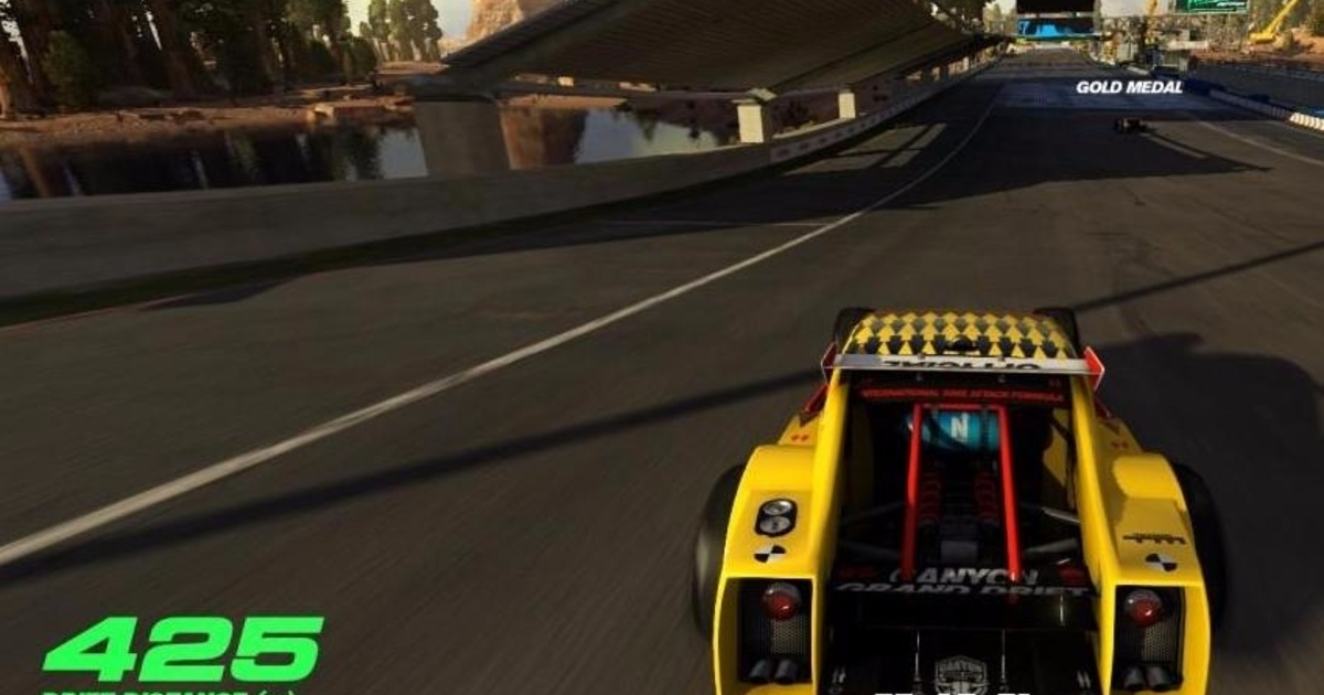 trackmania turbo gets free vr update on ps4 oculus and. Black Bedroom Furniture Sets. Home Design Ideas