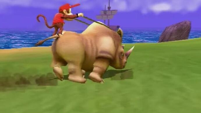 Diddy Kong Racing's second canned sequelunearthed