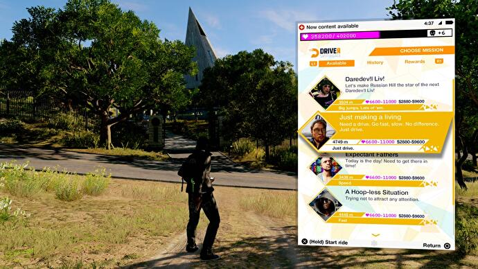 Watch Dogs 2 - Driver SF app explained and where to start