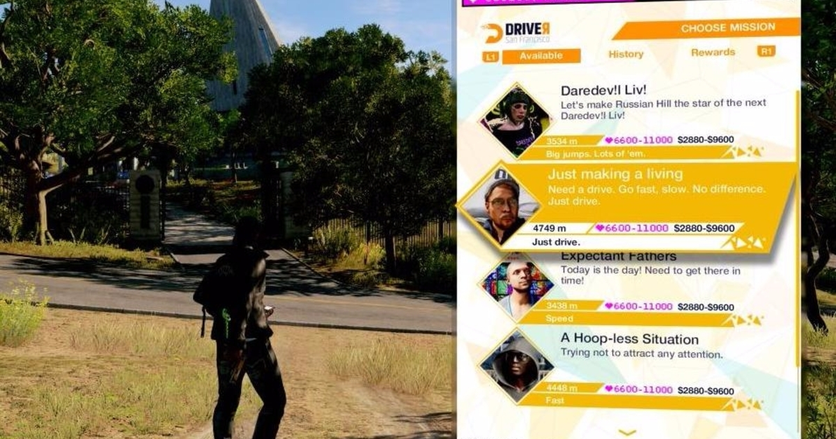 Watch Dogs  Driver Sf