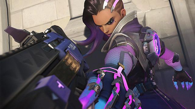 We Try Overwatch's New Hacker Hero Sombra for the First Time