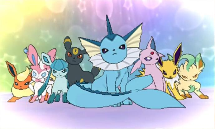 These Are The Eight Eevee Evolutions Youll Need To Fight Before They Join You For Extreme Evoboost Move