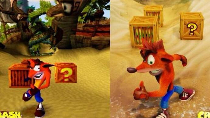 Watch: See how the Crash Bandicoot remaster holds up to the originals