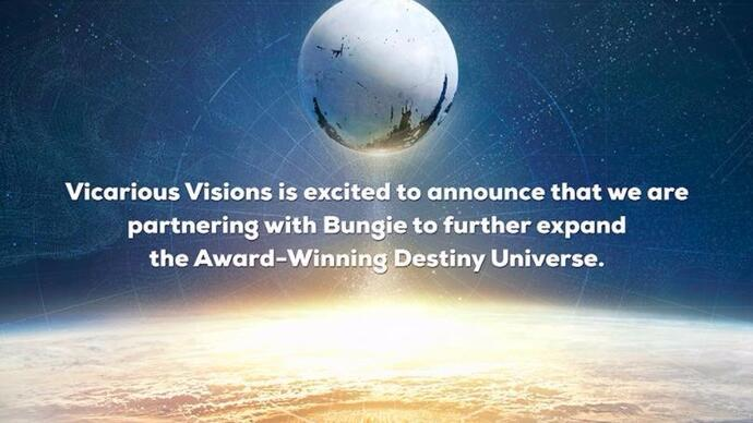 Amid rumours of Skylanders cancellation dev Vicarious Visions is now working on Destiny