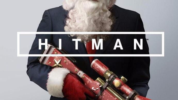 Watch: Festive Hitman gameplay and a sack full of prizes in the Eurogamer Christmas stream