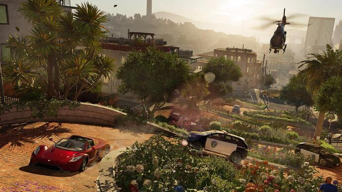 "Watch Dogs 2 patch makes ""Pull over now!"" policewoman chill out"