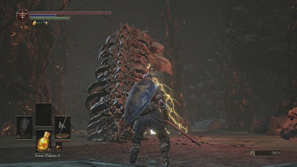 how to get the items in the lava dark souls