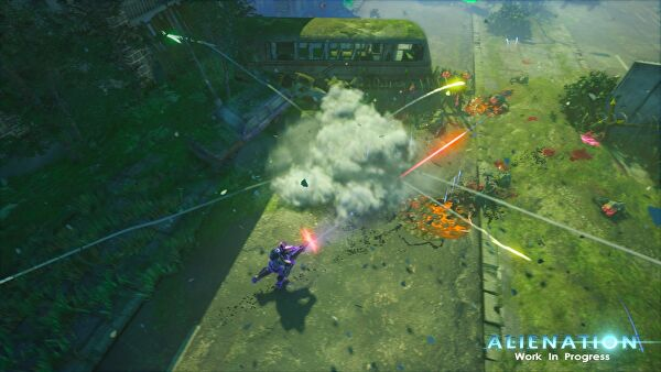 Alienation test for Couch koop ps4