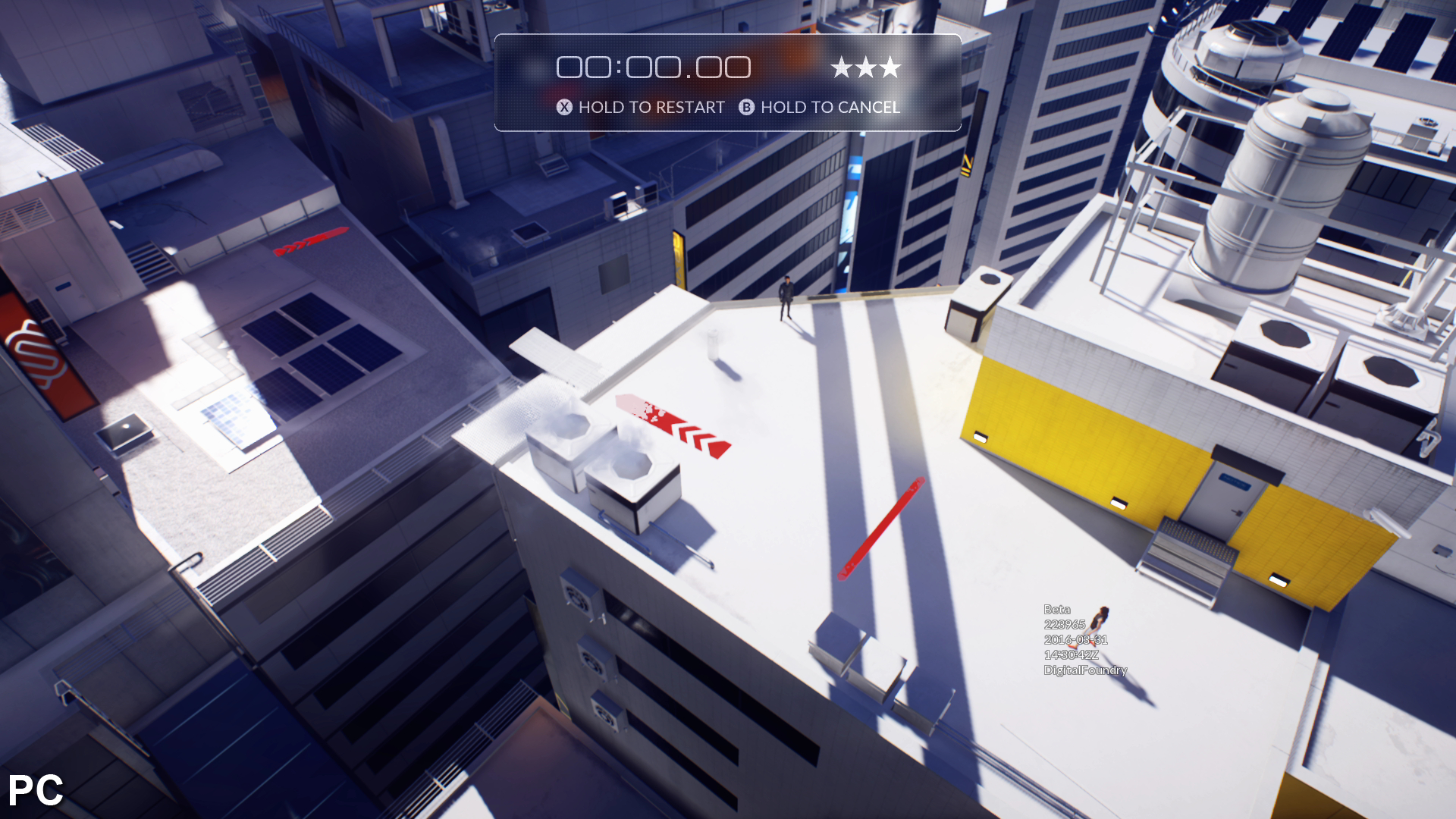 Digital foundry hands on with mirror 39 s edge catalyst for Mirror xbox one to pc