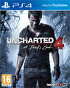 Packshot for Uncharted 4: A Thief's End on PlayStation 4