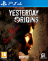 Packshot for Yesterday Origins on PlayStation 4