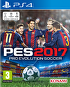 Packshot for PES 2017 on PlayStation 4