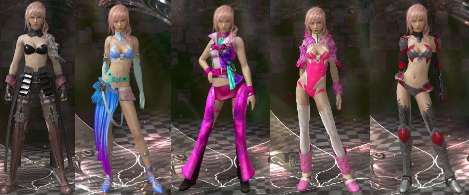 Serah from final fantasy 3d animated 5