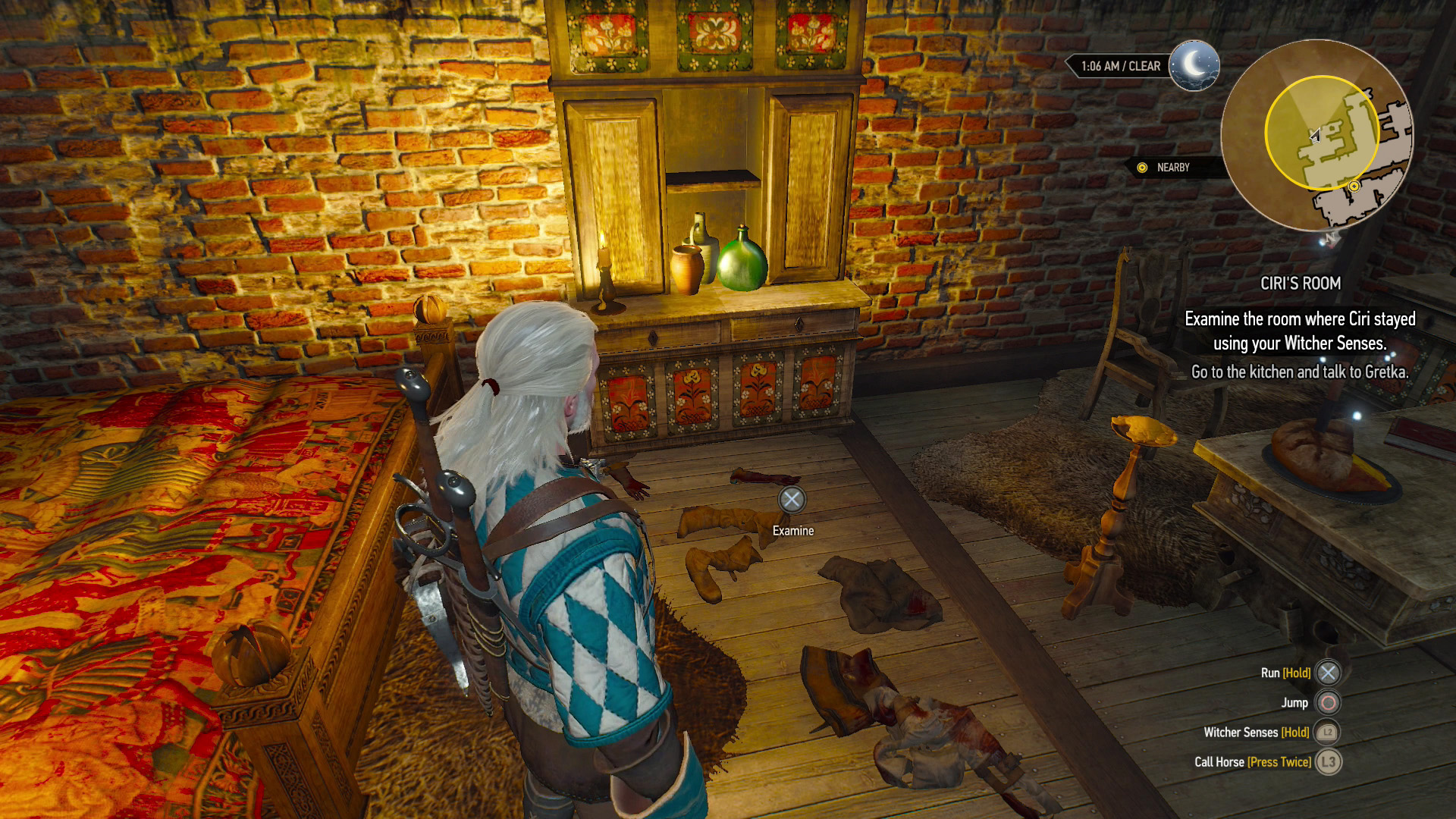 Witcher  Family Matters Search Room