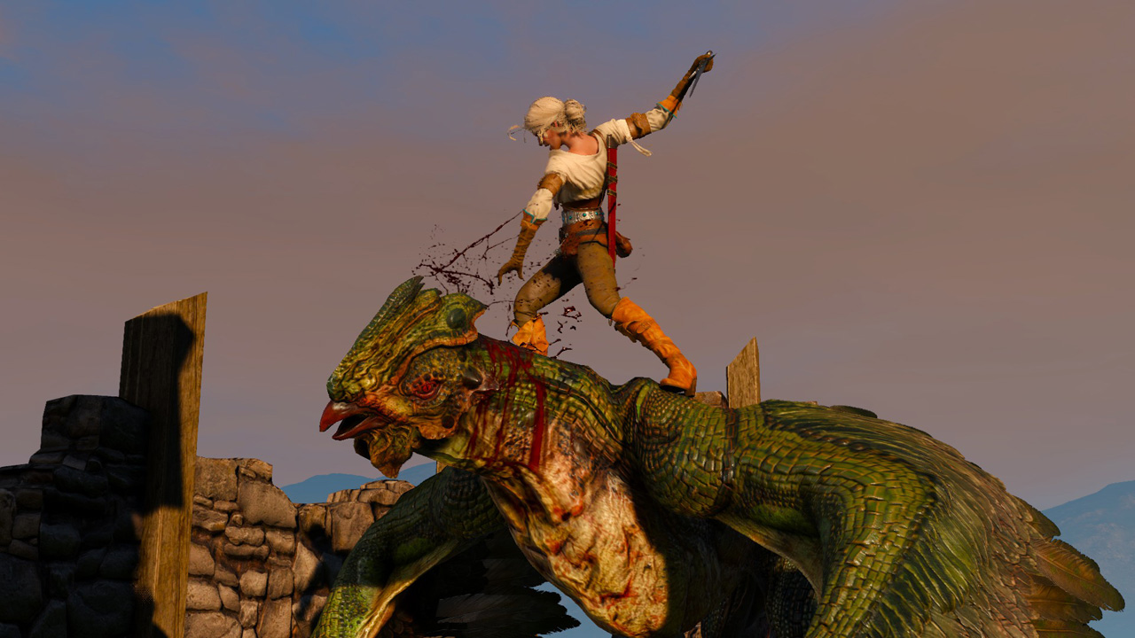 The Witcher 3 Bestiary Monsters And Boss Battles Usgamer