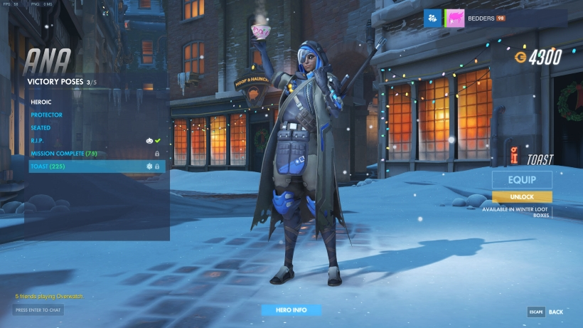 Winter Wonderland Christmas Victory Poses - Overwatch | Metabomb