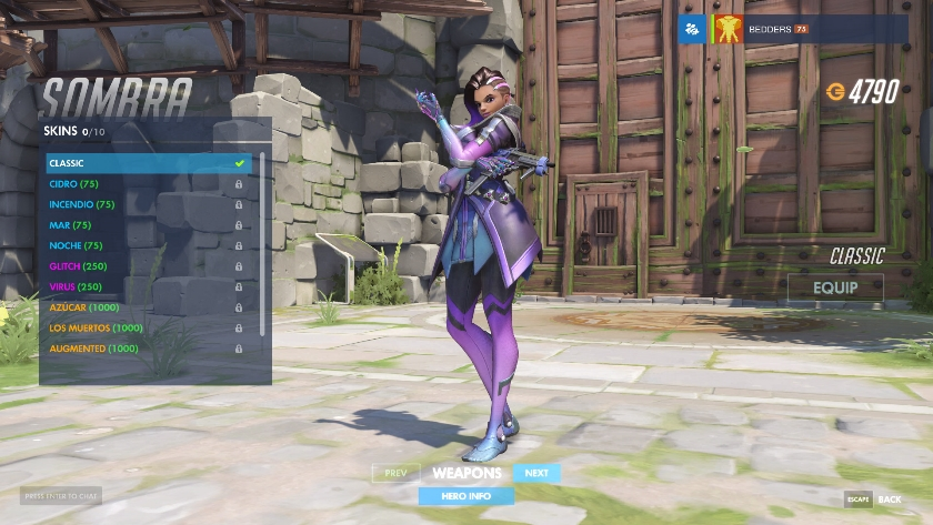 All Sombra skins - Overwatch | Metabomb
